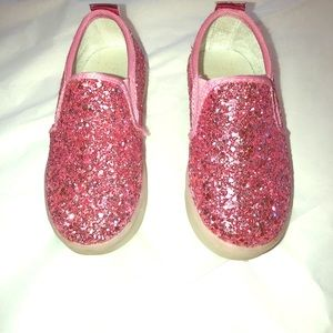 Toddler Pink Sparkle Shoes